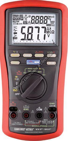 KM-877 UL Approved Digital Multimeter