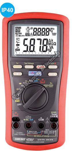 KM-878 UL Approved Digital Multimeter