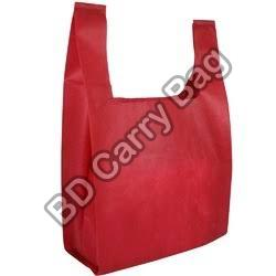 Biodegradable U Cut Carry Bags
