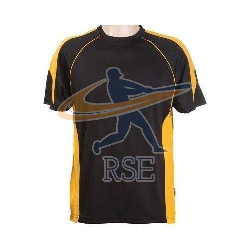 Mens Sports Round Neck T-Shirt