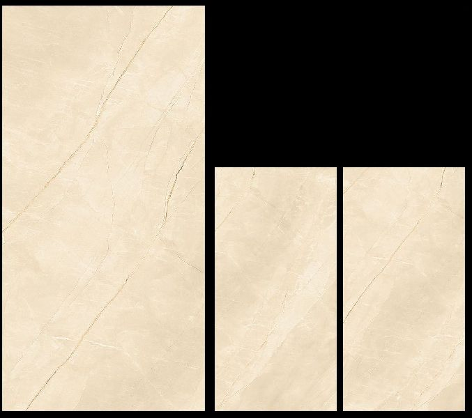 800X1600mm Armani Beige Glossy Series Vitrified Slabs
