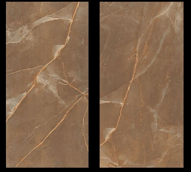 800X1600mm Armani Bronze Glossy Series Vitrified Slabs