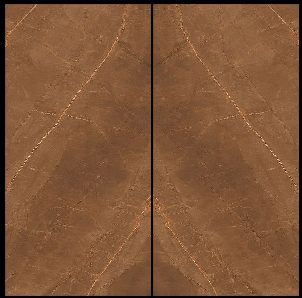 800X1600mm Armani Gold Book Match Glossy Series Vitrified Slabs