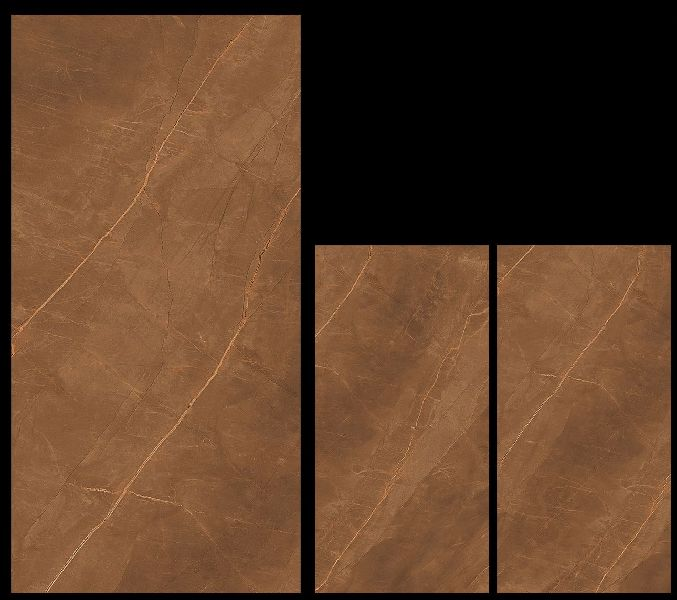 800X1600mm Armani Gold Glossy Series Vitrified Slabs