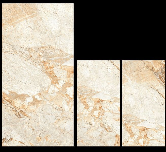 800X1600mm Breccia Aurora Glossy Series Vitrified Slabs