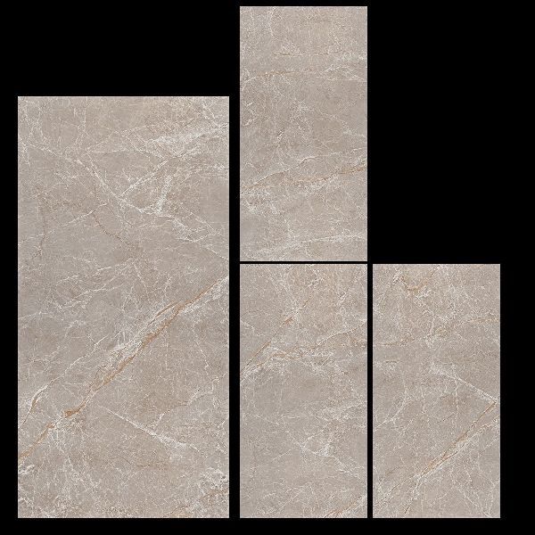 800X1600mm Fusion Brown Glossy Series Vitrified Slabs