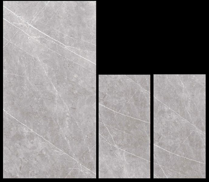 900X1800mm Acron Grey Glossy Series Vitrified Slabs