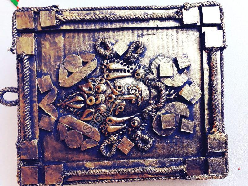 Hand Carved Wall Hanging