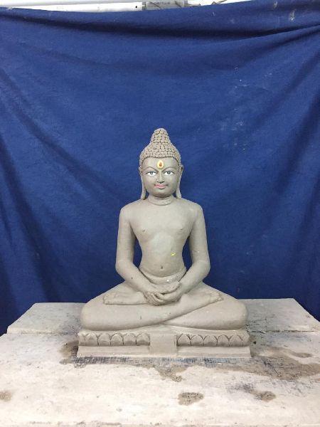 Clay Buddha Statue
