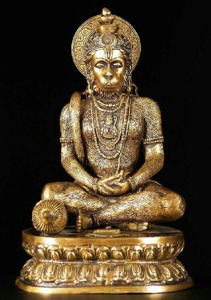 Metal Hanuman Statue