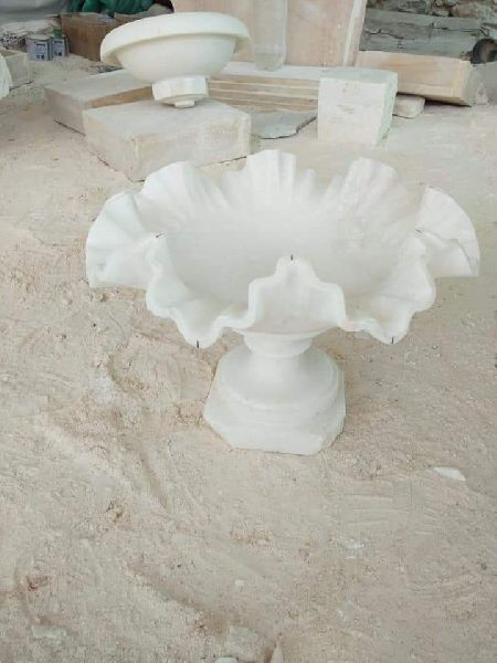 White Fenton Bowl
