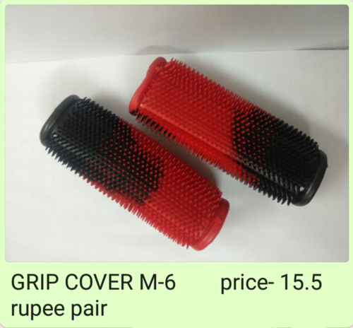 Two Wheeler Rubber Grip Cover