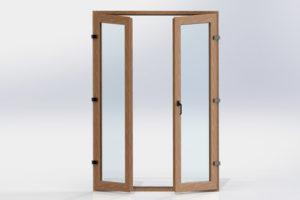 UPVC Standard Casement Door