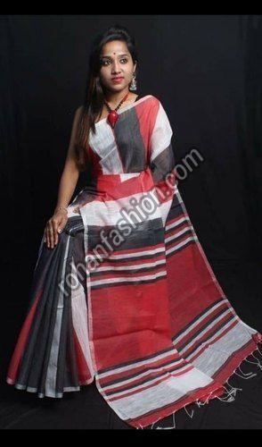 Handmade Cotton Silk Saree