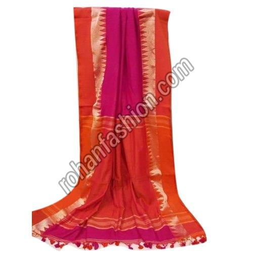 Party Wear Khadi Cotton Saree