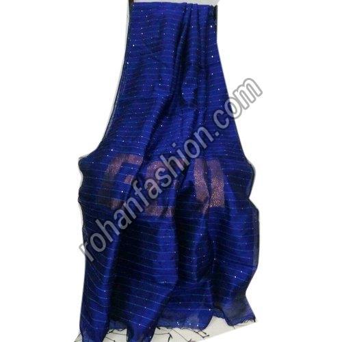 Silk Cotton Sequence Saree