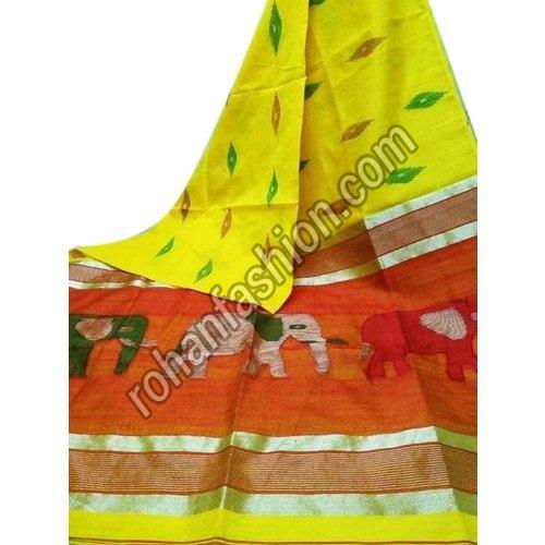 Trendy Silk Cotton Saree