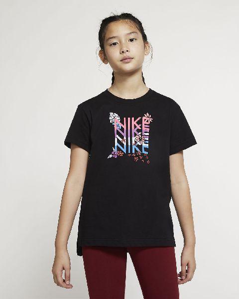Girls Round Neck T-Shirt