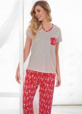 Ladies Night Pajama Set