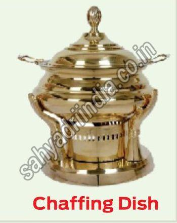 Golden Chafing Dish