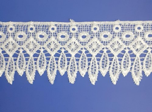 White Polyester GPO Lace