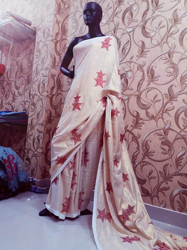 Dyeable Viscose Saree