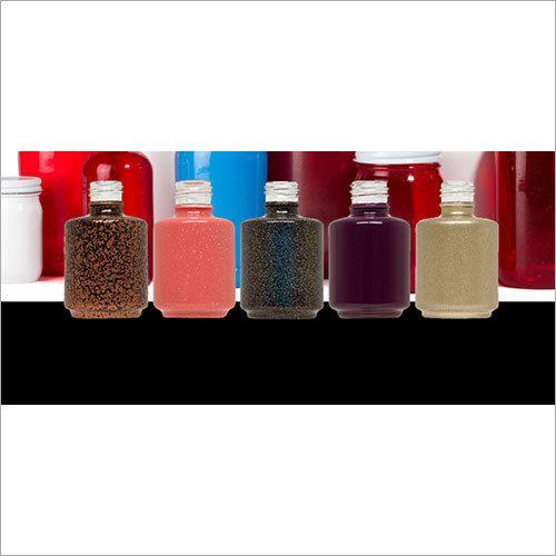 Color Coated Nail Polish Glass Bottles