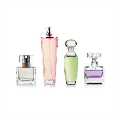 Empty Perfume Glass Bottle