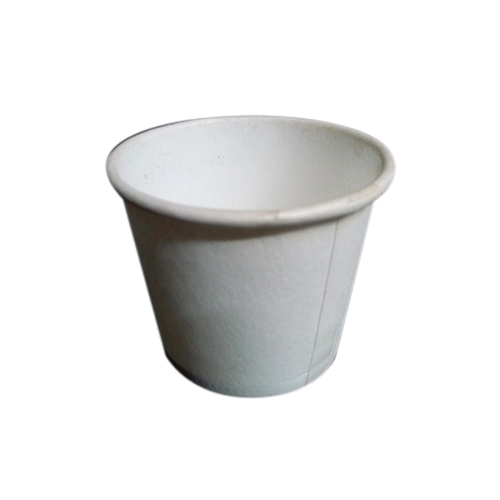 Disposable White Paper Cups