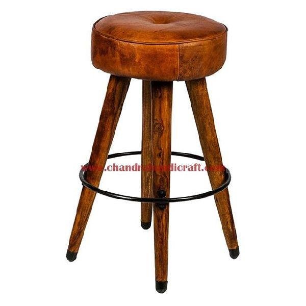 Wooden Bar Stool