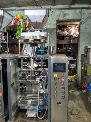 Collar Type Pneumatic Pouch Packing Machine