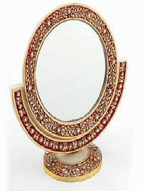 Marble Embossed Mirror