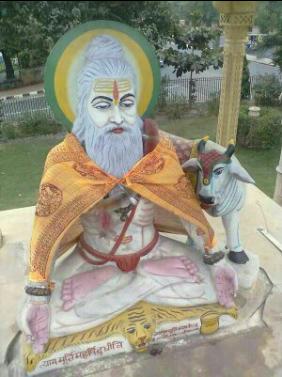 Marble Maharishi Dadhichi Statue