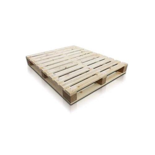 4 Way Rectangular Wooden Pallet