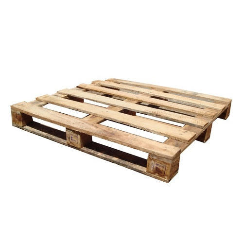 4 Way Square Wooden Pallet
