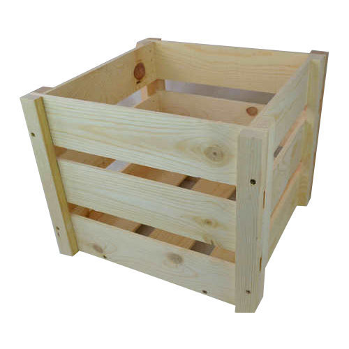 Rubber Wood Crate