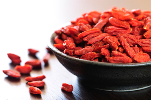 Red Dried Raisins