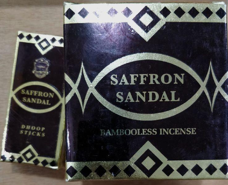 Saffron Sandal Bambooless Incense