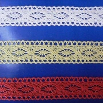 Colored Crochet Lace
