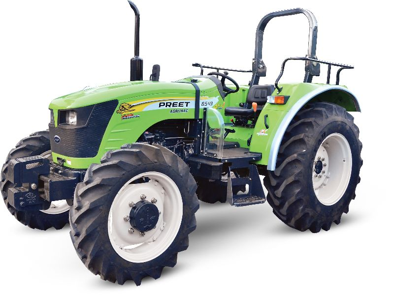 PREET 6549 - 65 HP Agricultural Tractor