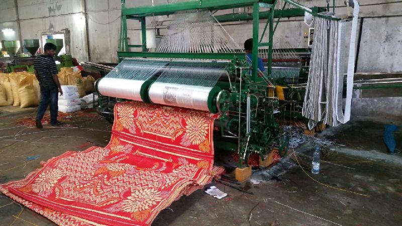 Mat Weaving Machine,Plastic Mat Making