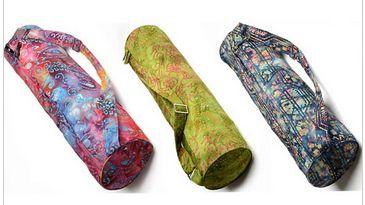 Batik Yoga Mat Bag