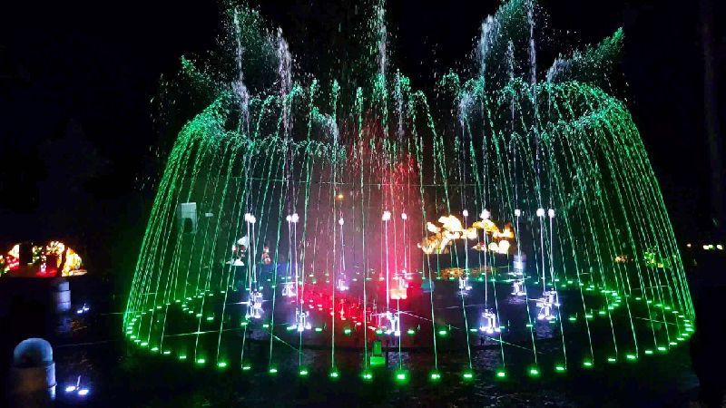 Multicolor Dancing Fountain