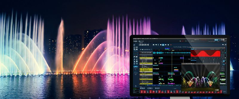 Musical Fountain Software