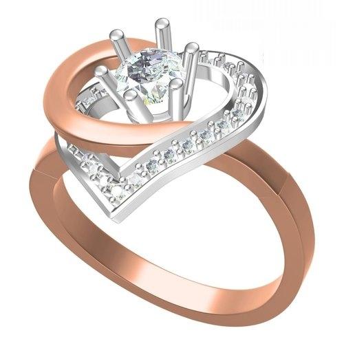 Ladies Designer Diamond Rings