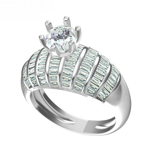 Ladies Stylish Diamond Rings