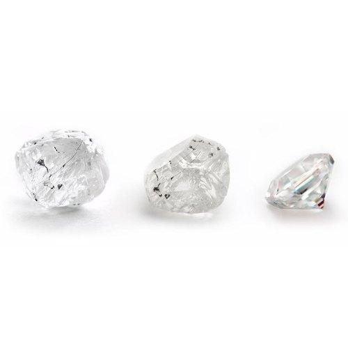 Polished Natural Diamond