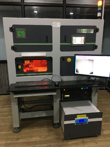 Auto Pi Green Laser Machine