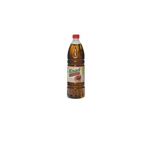 Kisan 1 Ltr Pet Bottle Mustard Oil