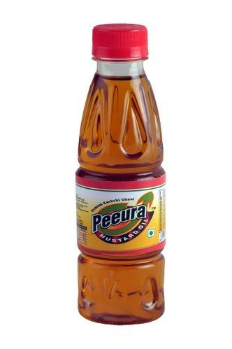 Peeura 200 ML Pet Bottle  Mustard Oil